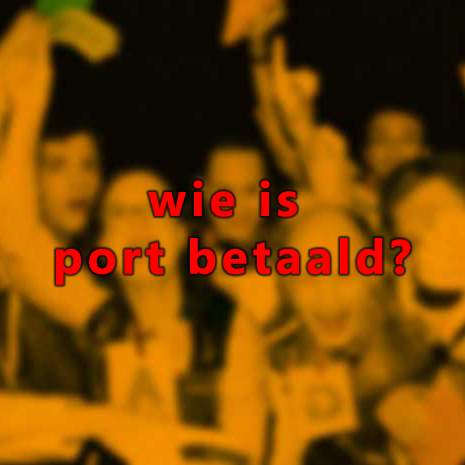 WIE IS PORT BETAALD